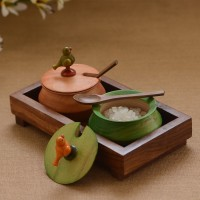 Unravel India 5 Piece Condiment Set(Wooden) best price on Flipkart @ Rs. 849