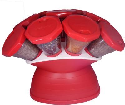 Trueware 360 degree Revolving 10 Piece Cheese Shaker & Spice Shaker