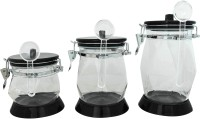 K.S Airtight unbreakable jars 3 Piece Condiment Set(Plastic)
