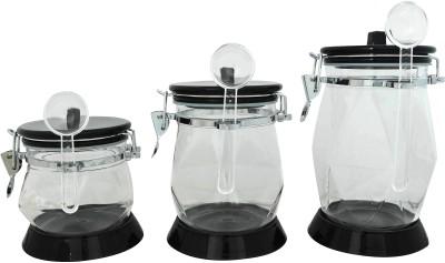 K.S Airtight unbreakable jars 3 Piece Condiment Set