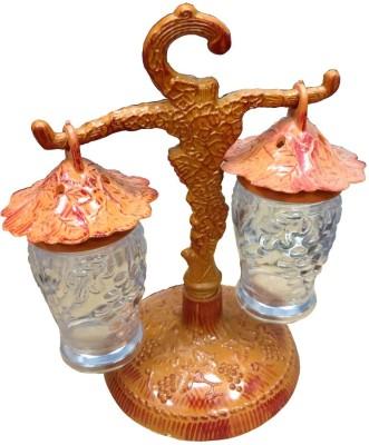 Eldefashions Decorative Brown Color Table 3 Piece Condiment Set