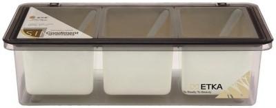 Metka Seasoning Container 3 Piece Condiment Set