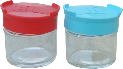 Aditya 2 Piece Salt & Pepper Set(Glass)