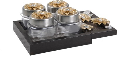 Aradhana Arts Gift Set 5 Piece Condiment Set(Plastic)