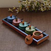 Unravel India 11 Piece Condiment Set best price on Flipkart @ Rs. 1649