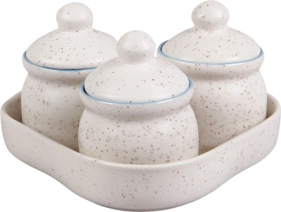 VarEesha Handcrafted 4 Piece Condiment Set