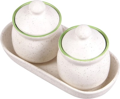 VarEesha Handcrafted 3 Piece Condiment Set