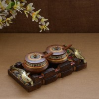 Unravel India 5 Piece Condiment Set(Wooden) best price on Flipkart @ Rs. 1799