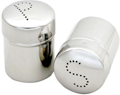 Kitchen Krafts 2 Piece Salt & Pepper Set(Stainless Steel)