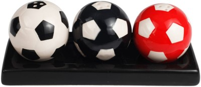 THD Castor Soccer Ball 4 Piece Salt & Pepper Set