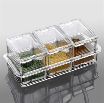HOMMATE 3 Piece Condiment Set
