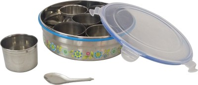 CSM Airtight Stainless Steel Masala Box 1 Piece Condiment Set