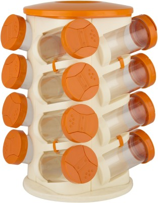 Trueware Rack 16 Piece Cheese Shaker & Spice Shaker