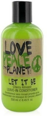 TIGI Love Peace and The Planet Let it Be LeaveIn Cherry Almond