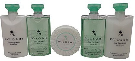 Generic Bvlgari Au the Vert Travel Set Shampoo, Conditioner, Lotion. Shower Gel, & Soap(73.93 ml)