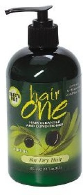 Hair One Cleanser and Conditioner With Olive Oil