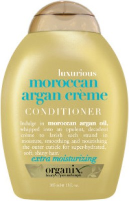 Organix Luxury Moroccan Argan Cream Conditioner(385 ml)