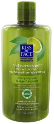 Kiss My Face Whenever Organic Conditioner-Pack of 3