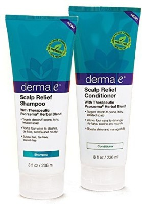 Derma E Natural Body Care Scalp Relief Psorzema Herbal Blend