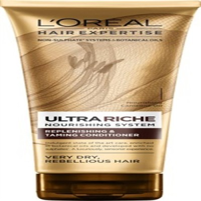 L,Oreal Paris Ultra riche Non - Sulphate Nourishing Replenishing & Taming Conditioner