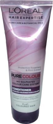 L,Oreal Paris Pure Colour No Sulphates Conditioner