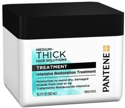 Pantene ProV Thick Hair Smooth Therapy Masque traitan lissant