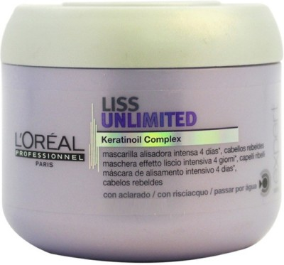 L,Oreal Paris Liss Unlimited KeratinOil Complex for rebellious hair