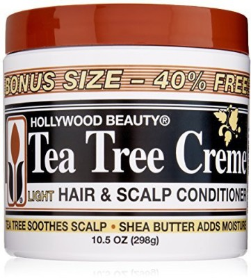Hollywood Beauty Tea Tree Creme Hair and Scalp