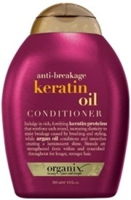 Organix Anti-Breakage Keratin Oil Conditioner(385 ml)