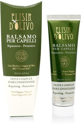 Erbario Toscano Repairing and Protective Hair Conditioner with Organic Tuscan Extra Virgin Olive Oil