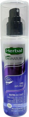 Herbal Bionature Anti-Frizz Biphase Conditioner