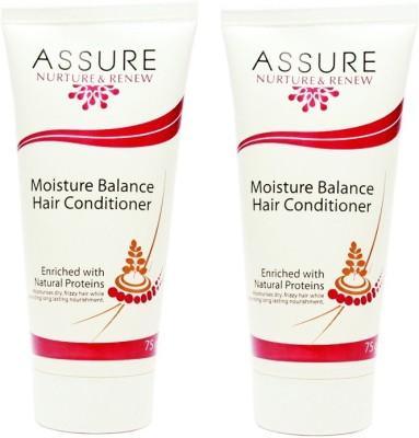 Assure Nurture Renew Moisture Balance Hair Conditioner (Pack of 2)