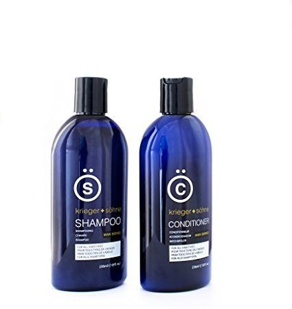 Generic K + S Salon Shampoo and Conditioner Set for Men, Hair Loss, Dandruff, and Dry Scalp - 8 Ounce(236 ml)