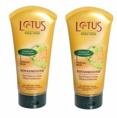 Lotus Kera-Veda Soya Protein Creme Deep Conditioner - Soyasmooth