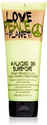 Tigi Love Peace & The Planet Walking On Sunshine Ginger Mandarin Lime Daily Shine