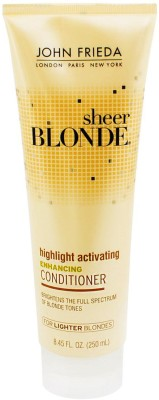 John Frieda Sheer Blonde Highlight Activating Enhancing Conditioner for Darker Shades