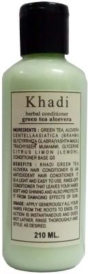 Khadi Herbal Green Tea Aloe Vera Hair Conditioner(210 ml)