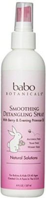 Babo Botanicals Berry Primrose Instantly Smooth Detangler
