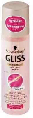 Gliss hair repair with Liquid Keratin Silk Express Conditioner