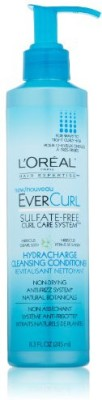L ,Oreal Paris EverCurl Hydracharge Cleansing Conditioner