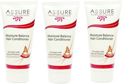 Assure Nurture Renew Moisture Balance Hair Conditioner (Pack of 3)