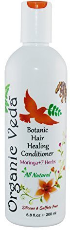 Organic Veda otanic Hair Healing Conditioner 200ml. ? Moringa and 7 Herbs ? Plant Based Vitamins and Minerals ? Highly Beneficial Botanical formula. ? Sulphate - Silicone - Parabanes FREE(200 ml)