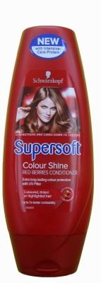 Schwarzkopf Professional Supersoft Colour Shine Red Berries Conditioner