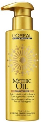 L ,Oreal Paris Mythic Oil Nourishing Conditioner For All Hair Types