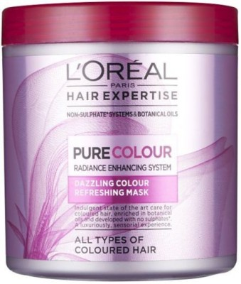 L,Oreal Paris Hair Expertise Pure Colour Dazzling Refreshing Mask