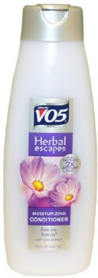 Alberto VO5 Moisturizing Herbal Conditioner for Normal Hair Free Me Freesia