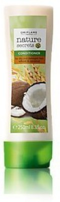 """Oriflame Nature Secrets Conditioner for Dry and Damaged Hair Wheat & Coconut.- """"Expedited International Delivery by USPS / FedEx """"(250 ml) at flipkart"""