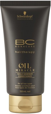 Schwarzkopf Professional BC Oil Miracle Gold Shimmer Conditioner