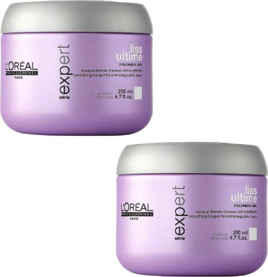 L,Oreal Paris Liss Unlimited KeratinOil Complex Set of 2