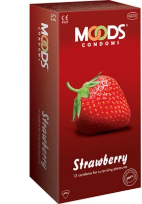 Moods Strawberry Flavoured Get Fruity Condom